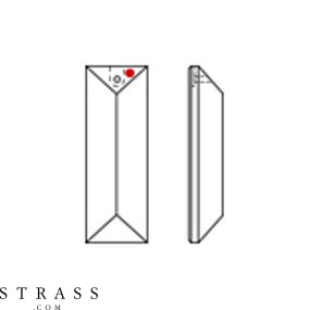 Swarovski Crystals 8321 MM 63,0X 22,0 CRYSTAL B (159204)