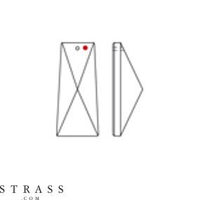 Swarovski Crystals 8451 Crystal (001)