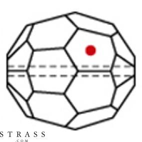 Swarovski Crystals 8502 Bordeaux (514)