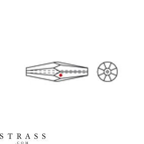 Swarovski Crystals 8543 Crystal (001)