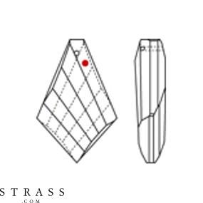 Swarovski Crystals 8755 Crystal (001)