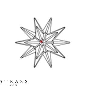 Swarovski Crystals 8983 NR 001 194 CRYSTAL B (975639)