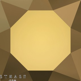 Swarovski Crystals 2028 SS 8 CRYSTAL DORADO M HF (667548)