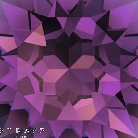 Swarovski Crystals 5520 MM 12,0 AMETHYST (910574)