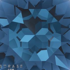 Swarovski Crystals 3017 Montana (207)
