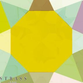 Swarovski Crystals 2028 Jonquil (213) Aurore Boréale (AB)