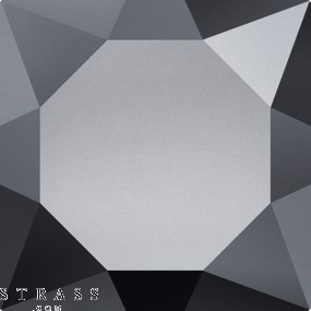 Swarovski Crystals 167472 Jet (280) Hematite (HEM)