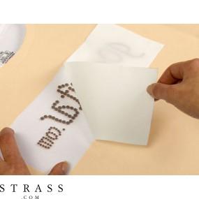 Hotfix Silicone Transfer Foil for creating Rhinestone Transfers 100cm x 30cm
