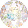 Swarovski Crystals 1088 Crystal (001) White Patina (WHIPA)