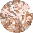 Swarovski Crystals 1122 Crystal (001) Rose Patina (ROSPA)
