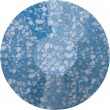 Swarovski Crystals 2038/B Marbled Blue (654)