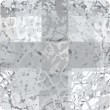 Swarovski Crystals 2493 Crystal (001) Silver Patina (SILPA)