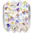 Swarovski Crystals 180901 Crystal (001) Aurore Boréale (AB)