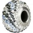Swarovski Crystals 182023 Crystal (001) Silver Night (SINI)