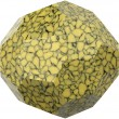 Swarovski Crystals 5000/B Marbled Yellow (652)