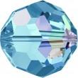 Swarovski Crystals 5000 Aquamarine (202) Aurore Boréale (AB)