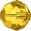 Swarovski Crystals 5000 Light Topaz (226)
