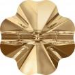 Swarovski Crystals 3011 Crystal (001) Golden Shadow (GSHA)