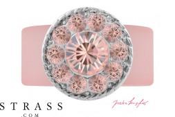 "Ring ""Inka"" Vintage Rose, with original Swarovski Crystals"
