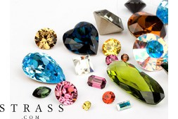 Chatons of Swarovski Crystals (Multi Form Mix) 72 Pieces
