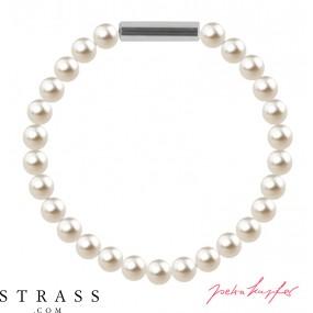"Bracelet ""Pearl bracelet Mini"" Cream Pearl, with original Swarovski Crystals"