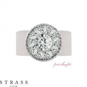 "Ring ""Inka"" Crystal, with original Swarovski Crystals"