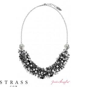 "Necklace ""Las Vegas Ghost Bar Silvershade"" , with original Swarovski Crystals"