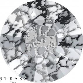 Swarovski Crystals 2034 Crystal (001) Black Patina (BLAPA)