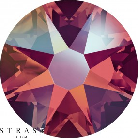 Swarovski Crystals 2088 Light Siam (227) Shimmer (SHIM)