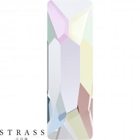 Swarovski Crystals 2555 Crystal (001) Aurore Boréale (AB)