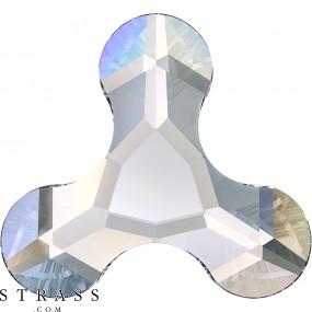 Swarovski Crystals 2708 Crystal (001) Aurore Boréale (AB)