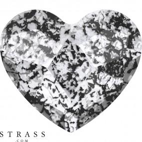 Swarovski Crystals 2808 Crystal (001) Black Patina (BLAPA)