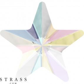 Swarovski Crystals 2816 Crystal (001) Aurore Boréale (AB)