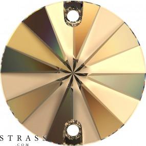Swarovski Crystals 3200/G Light Colorado Topaz (246)