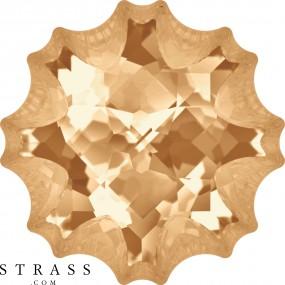 Swarovski Crystals 4195 Crystal (001) Golden Shadow (GSHA)