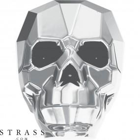 Swarovski Crystals 5750 Crystal (001) Light Chrome Both Sides (LTCH2)