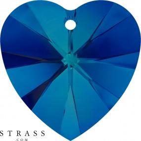 Swarovski Crystals 6228 Crystal (001) Bermuda Blue (BBL)
