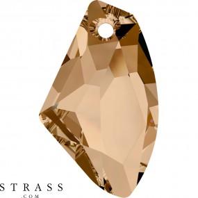 Swarovski Crystals 6656 Crystal (001) Golden Shadow (GSHA)