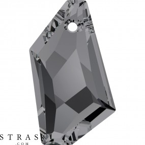 Swarovski Crystals 6670 Crystal (001) Silver Night (SINI)