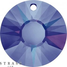 Swarovski Crystals 6724 Crystal (001) Heliotrope (HEL)