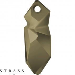 Swarovski Crystals 6913 MM 28,0 CRYSTAL METLGTGOLD (5205914)