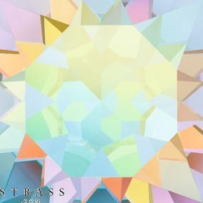 Swarovski Crystals 3008 Crystal (001) Aurore Boréale (AB)