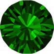 Swarovski Crystals 1028 Dark Moss Green (260)