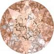 Swarovski Crystals 1088 Crystal (001) Rose Patina (ROSPA)