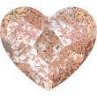Swarovski Crystals 2808 Crystal (001) Rose Patina (ROSPA)