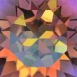 Swarovski Crystals 4437 Crystal (001) Volcano (VOL)