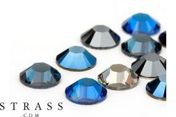 Strasssteine No-Hotfix Swarovski Kristalle   SS16 (3.9mm), Jeans Mix 100 Stück