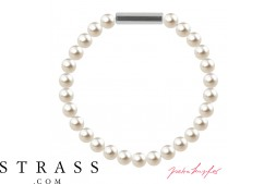 "Armband ""Perlenarmband Mini"" Cream Pearl, made with Swarovski Crystals"