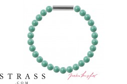 "Armband ""Perlenarmband Mini"" Jade Pearl, made with Swarovski Crystals"