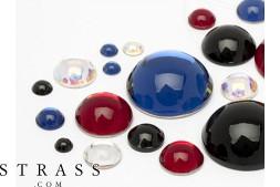 Halbperlen No-Hotfix Swarovski Kristalle (Color Multi Size Mix) 100 Stück
